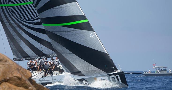 Racing Yacht Upwind Sails and Design - Quantum Sails