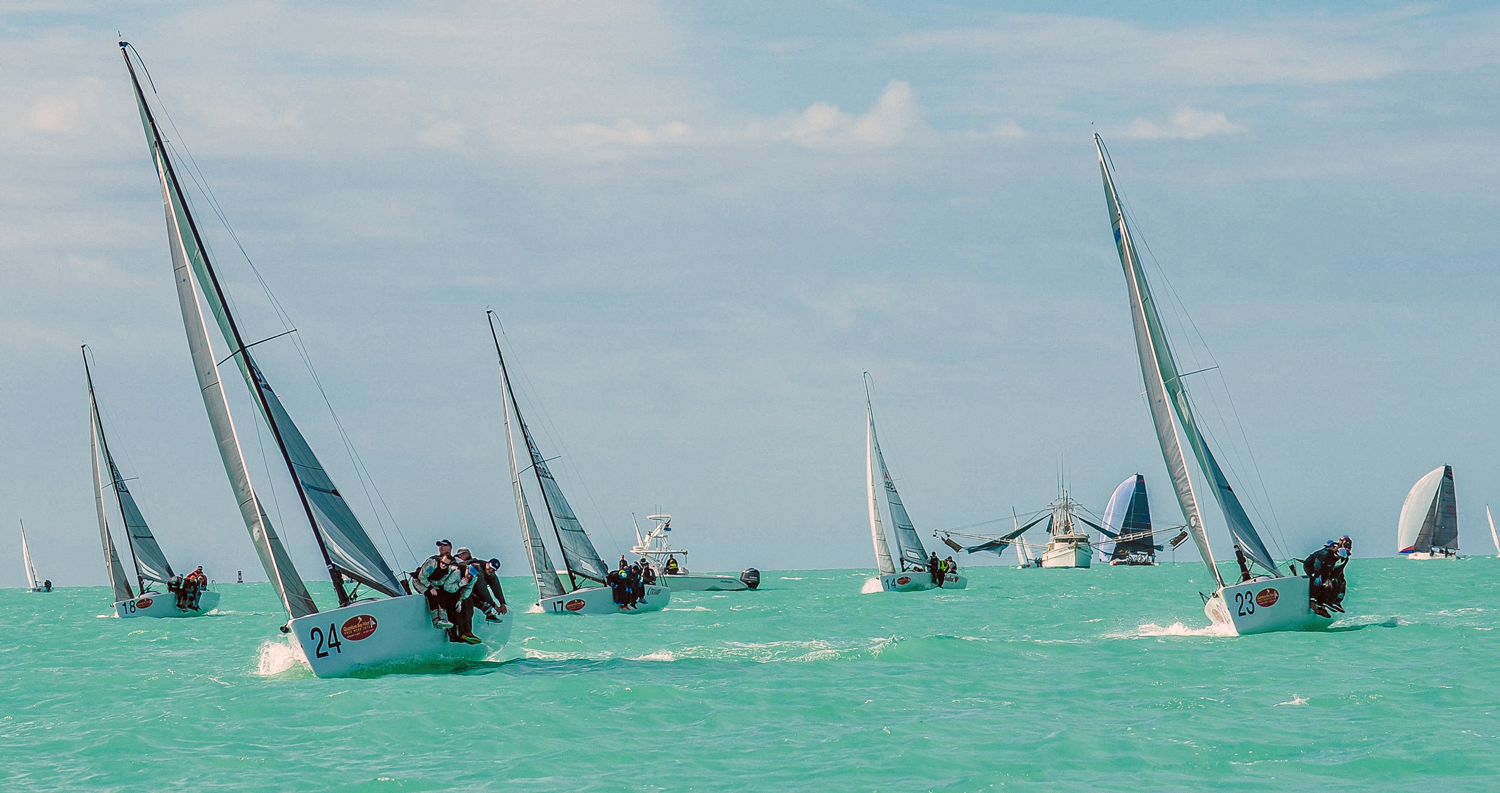 Want to Win a Big Regatta? Don't Overthink the Problem: Six