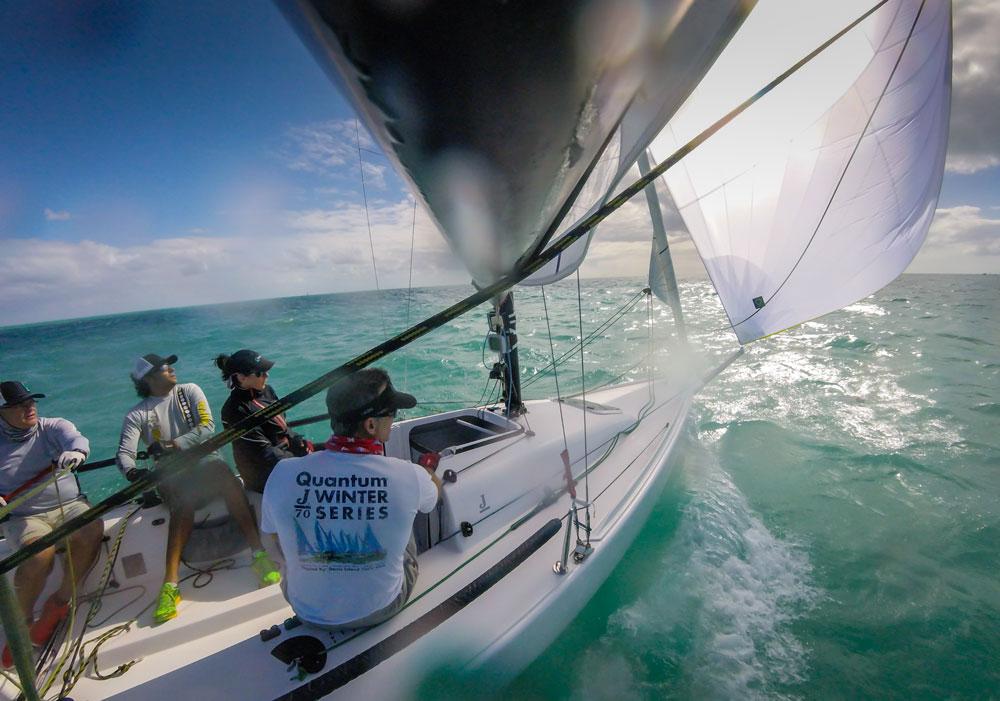 J/70 Sails - One Design Sails and Accessories - Quantum Sails