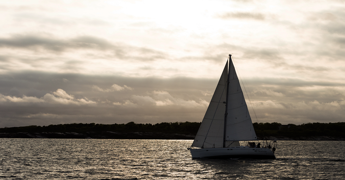 When The Sun Goes Down Sailing At Night Articles
