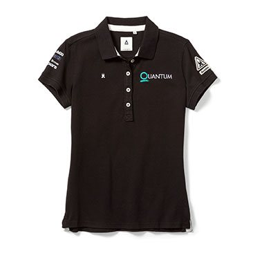 QR Gaastra Women's Embroidered Polo