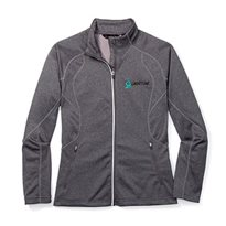 Women's Catalyst Performance-Fleece Full-Zip Top, Classic Logo
