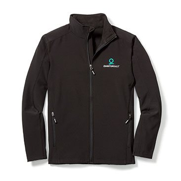 Men's Soft Shell Jacket, New Logo