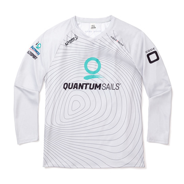 Quantum Racing Isobar V-Neck Long Sleeve Tech Shirt