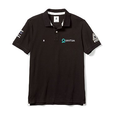 QR Gaastra Men's Embroidered Polo