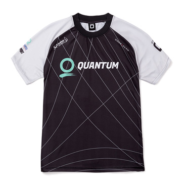 Quantum Racing Black Short Sleeve Tech Shirt