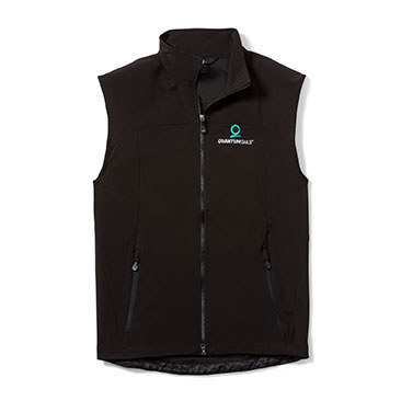 Men's Soft Shell Vest, New Logo