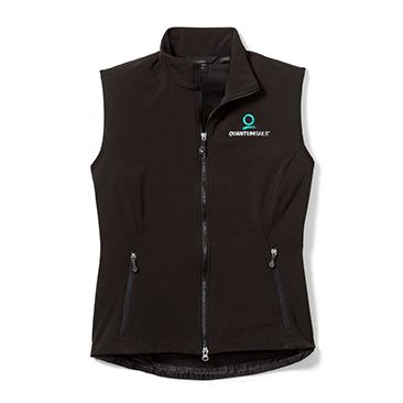 Women's Soft Shell Vest, New Logo