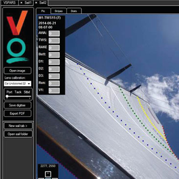Quantum Sail Scan powered by VSPARS