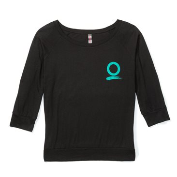 Women's Scoop Tee 3/4 Sleeve