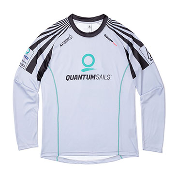 QR Vortex Long Sleeve Tech Tee
